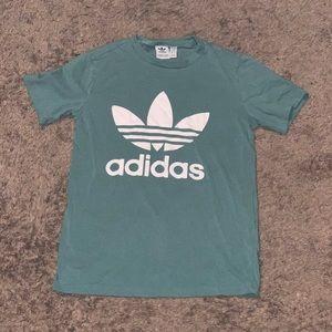 Adidas Mint Green Shirt